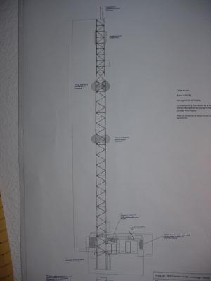 Póster de la torre de telecomunicaciones
