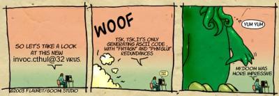 Geek's occult behaviour