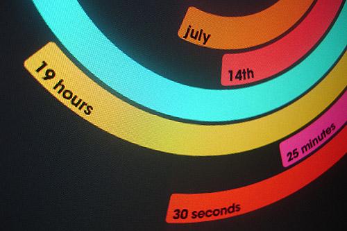Polar Clock v3