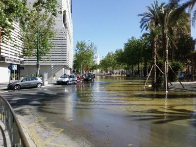 Géiser en Sevilla