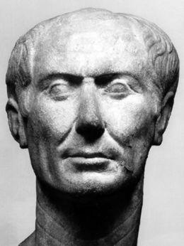 Busto de César tipo Tusculum