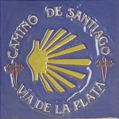 Azulejo de la Vía de la Plata