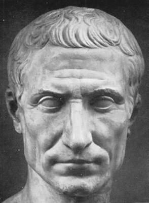 Busto de César idealizado