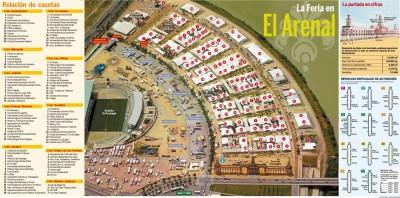 Plano de la Feria 2009