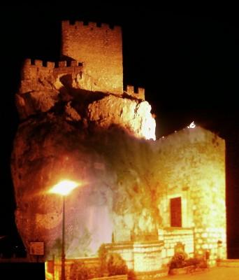 Composición del Castillo de Zuheros