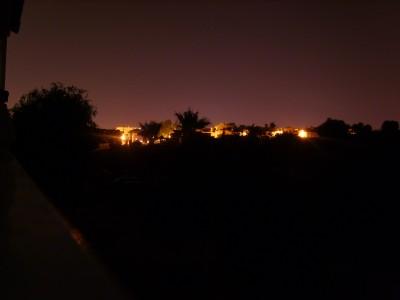 Oscura es la noche en Santiponce