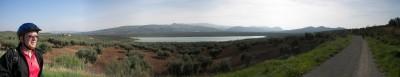Panorámica de la Laguna del Salobral