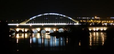 Puentes Romano y Lusitania, en Mérida