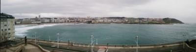 La Coruña desde la Domus