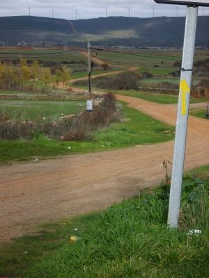 Vía de la Plata en Tábara