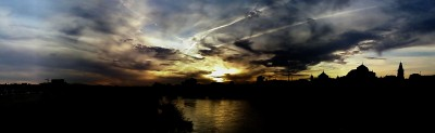 Puesta de sol en  Córdoba