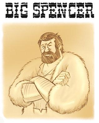 Big Spencer. Grande es, desde luego...