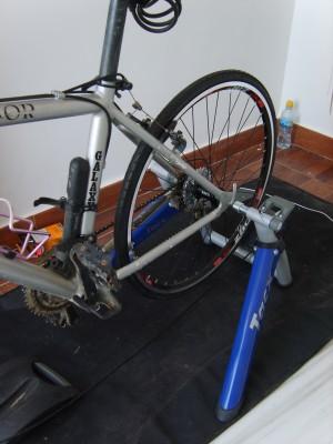 Nueva rueda y el rodillo