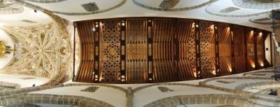 Artesonado de la Catedral de la Sierra