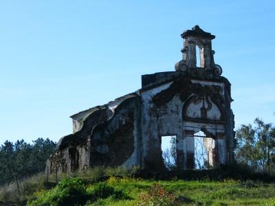 Iglesia minera de las Minas del Castillo de las Guardas (Imagen de Miguel Ángel Mato)