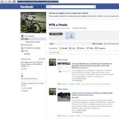 MTB a Fondo en Facebook