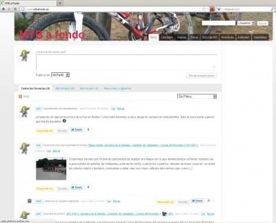 Captura de pantalla de MTB a Fondo