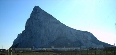 Peñón de Gibraltar desde la Línea