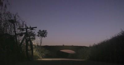 Atardecer junto al puente de los Vinateros