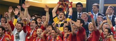 Celebración de la Eurocopa 2012