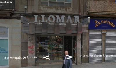 Pastelería Llomar en Pontevedra