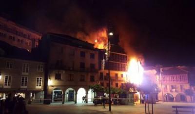 Incendio en La Herrería
