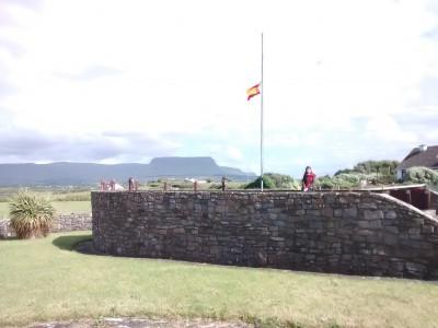Monumento a los fallecidos de la Armada. Grange, Sligo