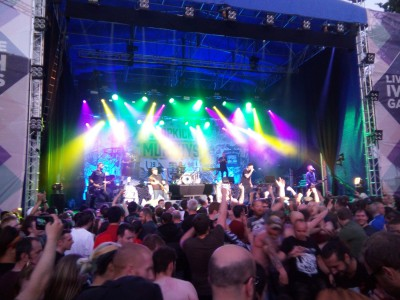 Dropkick Murphys en concierto