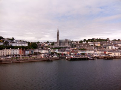 Cobh. Última foto que tomé de Irlanda desde el ferry