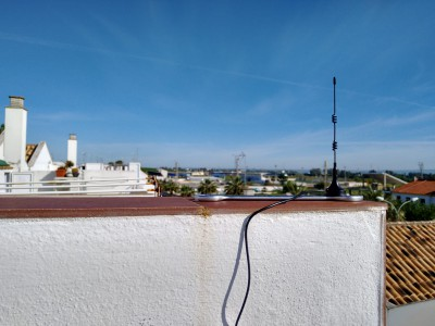 Antena del gateway
