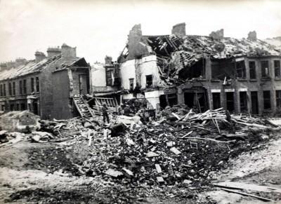 Belfast tras el Blitz