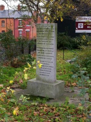 Memorial del bombardeo en North Strand